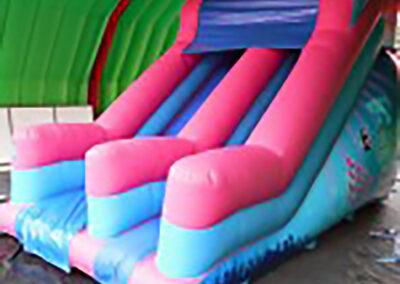 North Dublin Bouncy Castles 10ft Platform Disco Theme Slide
