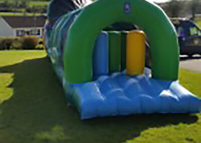 North Dublin Bouncy Castles 50ft Jungle obstacle Course