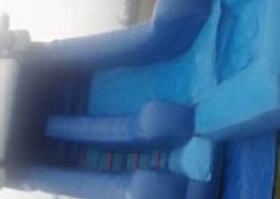 North Dublin Bouncy Castles 9ft Platform Water Slide & Detachable Water Pit