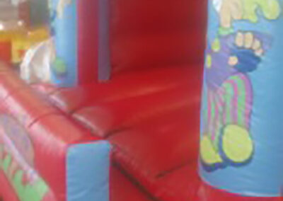 Circus Bouncy Castle with front safety wall
