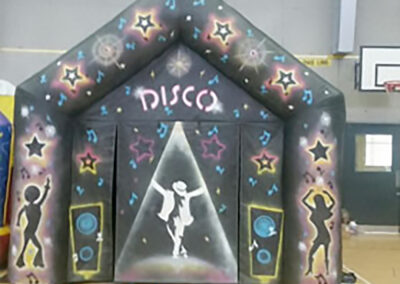 Disco Marquee with lights & speaker