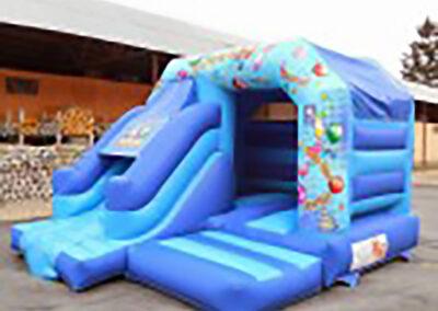 North Dublin Bouncy Castles Front Slide Party Combi