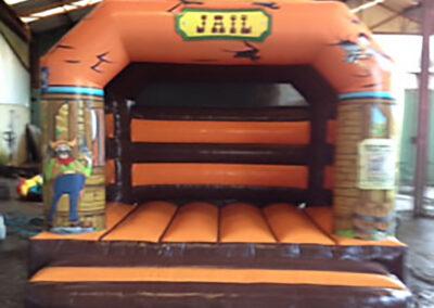 Jail Bouncy Castle