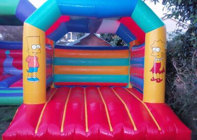Simpsons Bouncy Castle 11x13