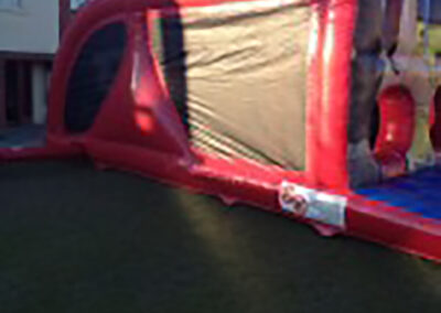 Super Hero Bouncy Obstacle Course
